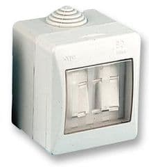 PRO ELEC OL1520  Ip55 Switch 2 Way 2 Gang