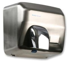PRO ELEC PEL00878  Hand Dryer Automatic Brushed Steel