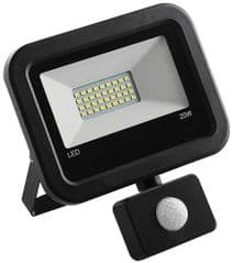 PRO ELEC PEL00936  20W Led Floodlight With Pir