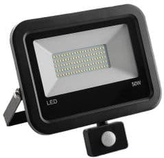 PRO ELEC PEL00938  50W Led Floodlight With Pir