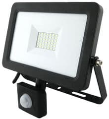 PRO ELEC PEL01013  30W Led Floodlight With Pir