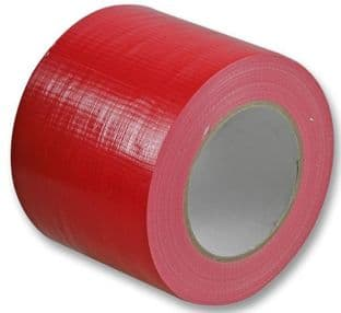 PRO POWER 3140RED  Waterproof Cloth Gaffer Tape Red 100Mm