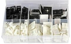 PRO POWER ACTBMKT  Cable Tie Base Kit 180 Pce