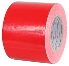 PRO POWER AGT100X50RED  Waterproof Cloth Gaffer Tape Red 100Mm