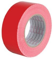 PRO POWER AGT50X50RED  Waterproof Cloth Gaffer Tape Red 50Mm