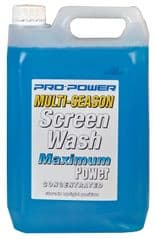 PRO POWER CHEMICALS PP5LSWASH  Screenwash Ready To Use -5 Degrees 5L