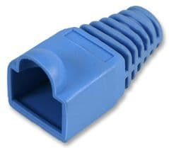 PRO POWER SH001 6 BLUE  Strain Relief Boot 6Mm Blue 10/Pack