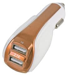 PRO SIGNAL PSG04012  Charger In Car Dual Usb Gold