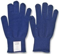 ST 27413  Thermal Gloves - Blue Pvc Dots