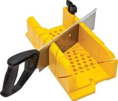 STANLEY 1-20-600  Clamping Mitre Box+Saw