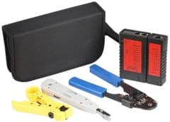 TENMA 72-2960  Cable Tester And Tool Kit