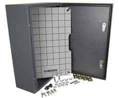 VISION 112869  Amp Cabinet Outdoor Steel 600X400X200Mm