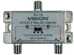 VISION 116983  Dc Injector 3-Way Tap
