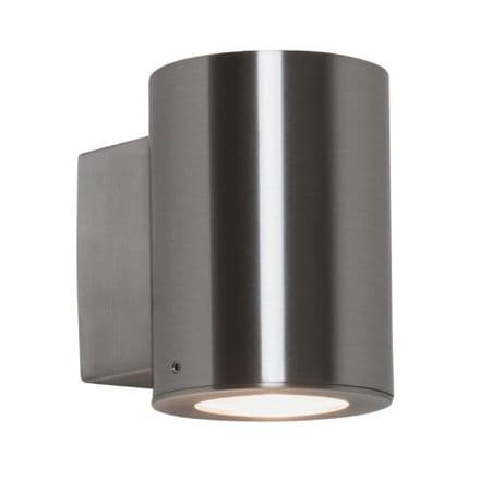 Astro 1059006 Detroit Single Wall Light Brushed Stainless Steel
