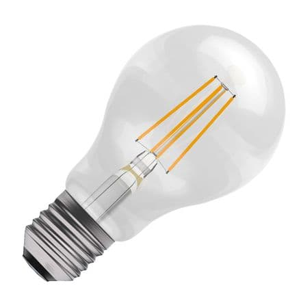 BELL Amber Coloured  LED Filament GLS 4w ES