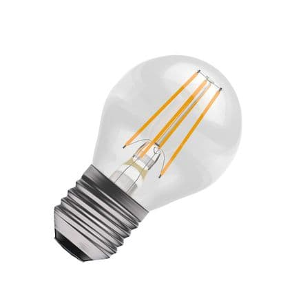 BELL Filament LED 45mm Round Bulb 4w ES