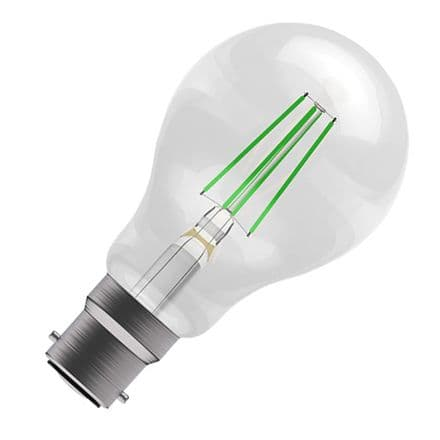 BELL Green Coloured  LED Filament GLS 4w BC
