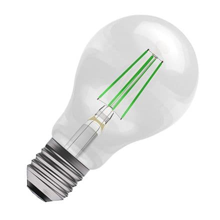 BELL Green Coloured  LED Filament GLS 4w ES