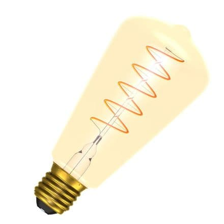 Bell 60017 LED Vintage Soft Coil Filament Squirrel Cage ES Cap 4W