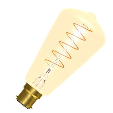 Bell 60018 LED Vintage Soft Coil Filament Squirrel Cage BC Cap 4W