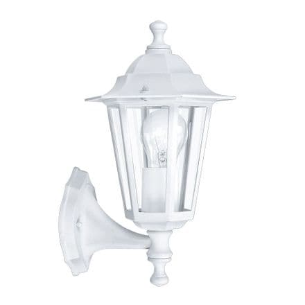 Eglo 22463 Laterna 5 Traditional Wall Light with Lower Arm - White