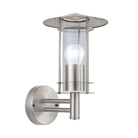 Eglo 30184 Lisio Stainless Steel Wall Light