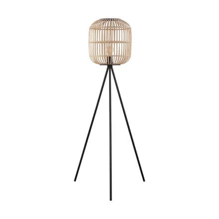 Eglo 43219 Bordesley Floor Lamp Black