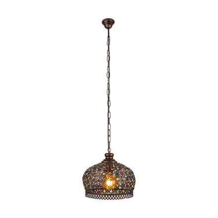 Eglo 49764 Jadida Pendant Copper-Coloured Antique