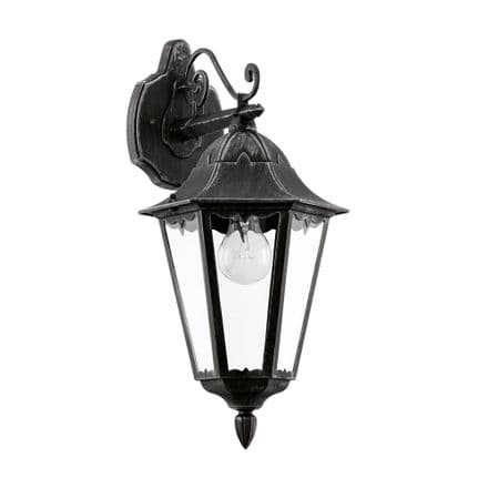 Eglo 93456 Navedo Rustic Traditional Top Arm Wall Lantern
