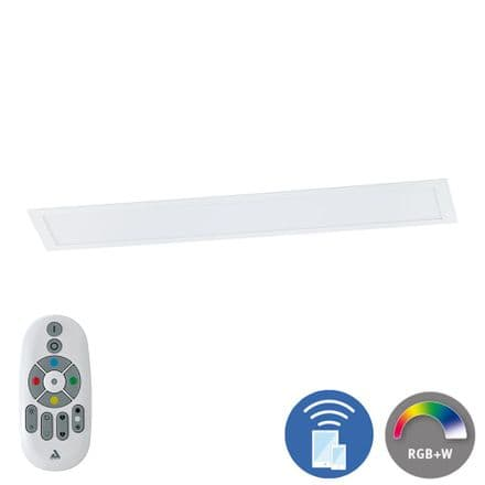 Eglo 96664 Salobrena-C Connect Controlled Tuneable White & RGB 1200x300 LED Panel