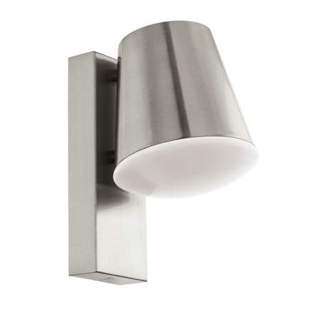 Eglo 97484 Caldiero-C Connect Controlled RGBW Stainless Steel Wall Light