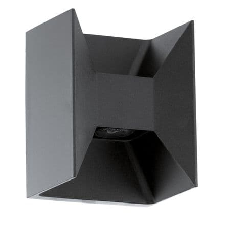 Eglo Morino LED Decorative Up/Down Wall Light - Anthracite
