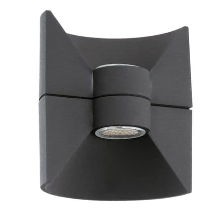 Eglo Redondo LED Decorative Up/Down Wall Light - Anthracite