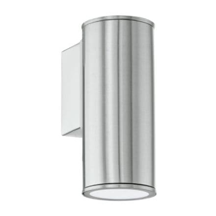 Eglo Riga LED Decorative Down Wall Light - Stainless Steel