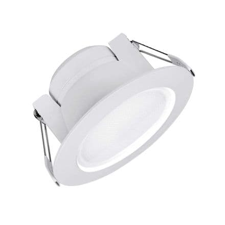 Enlite Uni-Fit 10W Non Dimmable Round Commercial LED Downlight Warm White