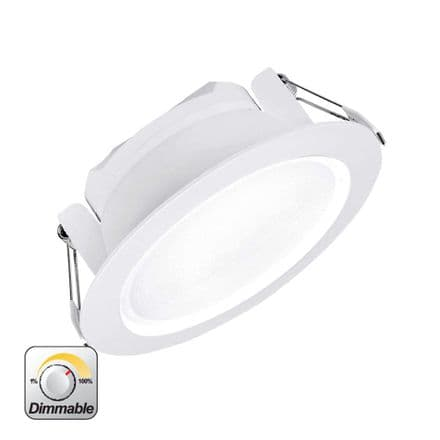 Enlite Uni-Fit 15W Triac Dimmable Round Commercial LED Downlight Cool White