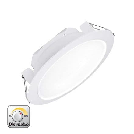 Enlite Uni-Fit 25W Triac Dimmable Round LED Commercial LED Downlight Cool White