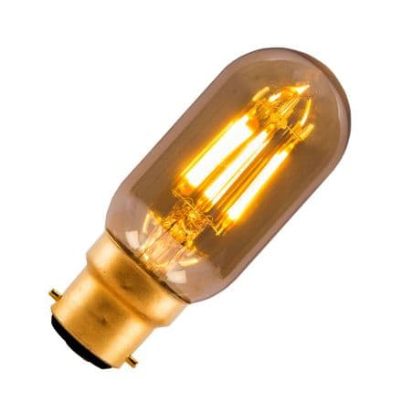 LED Vintage Filament Dimmable Radio Valve Bulb Bell BC 4W