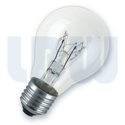 Standard Shape GLS Light Bulb 40w Screw Cap Clear ES/ E27