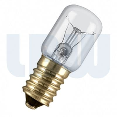Appliance Lamp 15w Small Screw Cap SES/ E14 Clear
