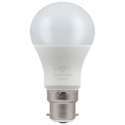 Crompton 8.5W Smart LED GLS Dimmable 3000K BC