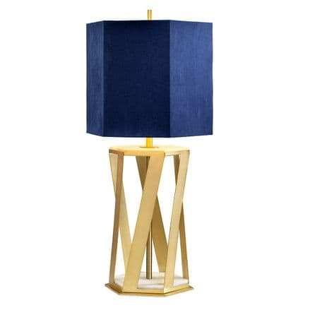 Elstead Apollo Table Lamp Brushed Brass