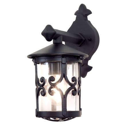 Elstead BL8 Hereford Wall Up Lantern Black