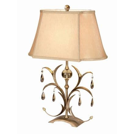 Elstead Lily Table Lamp Bronze