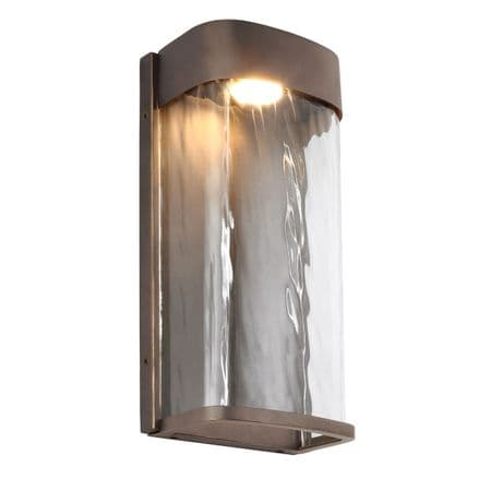 Feiss Bennie Large LED Wall Light Bronze