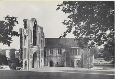 NORFOLK 1950: CASTLE ACRE PRIORY. Built in the 12th Century. Collectable Print