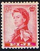 Fiji 1959 SG 301 Queens Portrait Fine Mint