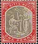 1905 St Kitts - Nevis Christoper Columbus SG 13 Fine Mint