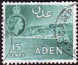 1953 Aden SG 53 Crater Fine Used