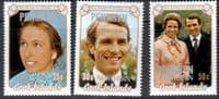 1973 Penrhyn Northern Princess Anne Royal Wedding Set Fine Mint